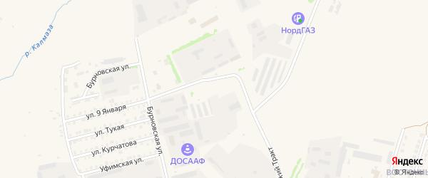 Сад Газовик на карте Бирска с номерами домов