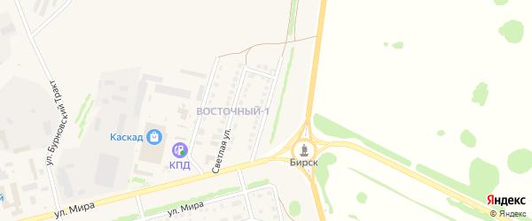 Крайняя улица на карте Бирска с номерами домов