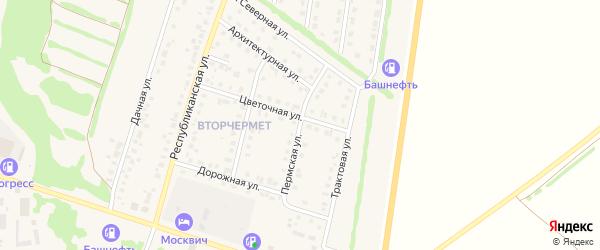 Пермская улица на карте Бирска с номерами домов