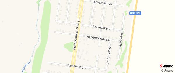 Черемуховая улица на карте Бирска с номерами домов