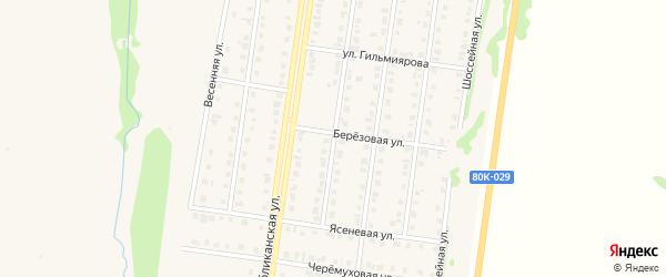 Сиреневая улица на карте Бирска с номерами домов