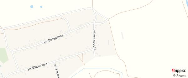 Дорожная улица на карте деревни Мамяково с номерами домов