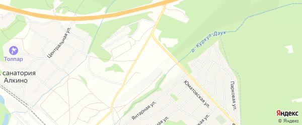 СТ Авиатор на карте Чишминского района с номерами домов