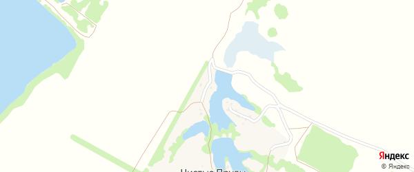 Тополиная улица на карте хутора Чистые Пруды с номерами домов