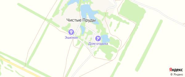 Опытная улица на карте хутора Чистые Пруды с номерами домов