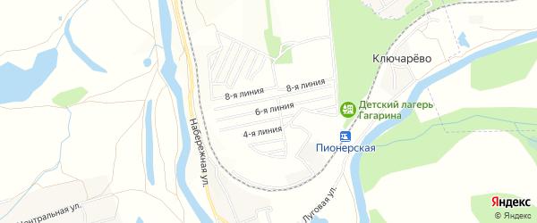 СТ Нефтяник-1 на карте Чишминского района с номерами домов