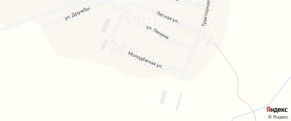 Молодежная улица на карте деревни Баймурзино с номерами домов