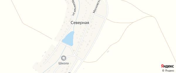 Московская улица на карте Северной деревни с номерами домов