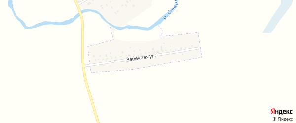 Заречная улица на карте деревни Кононовского с номерами домов