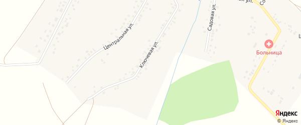 Ключевая улица на карте села Шланлы с номерами домов