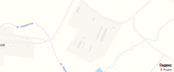 Трудовая улица на карте деревни Добровольного с номерами домов