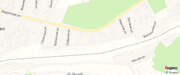 Улица Славы на карте деревни Юматово с номерами домов