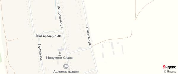 Уральская улица на карте Богородского села с номерами домов