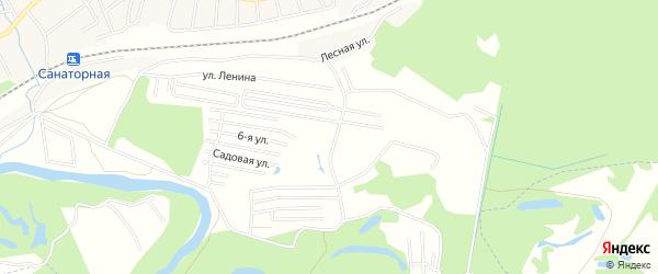 СНТ Нектар на карте Уфимского района с номерами домов