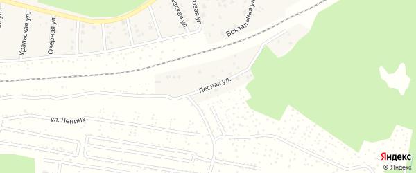 Лесная улица на карте села ст Юматово с номерами домов
