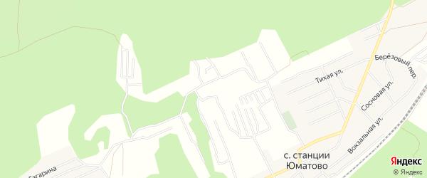СНТ Нур на карте Уфимского района с номерами домов