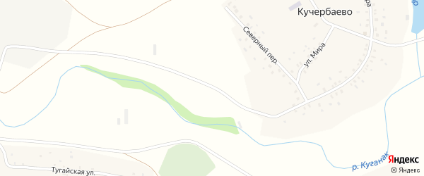 Улица Мира на карте деревни Константиноградовки с номерами домов