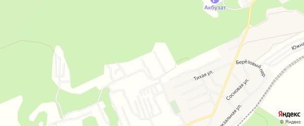 СНТ Надежда на карте Уфимского района с номерами домов
