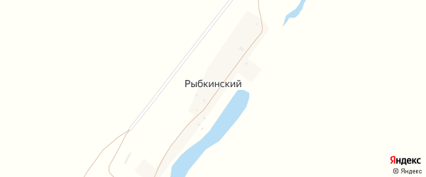 Рыбкинская улица на карте Рыбкинского хутора с номерами домов