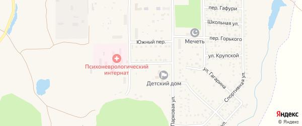 Южная улица на карте села Маячного с номерами домов