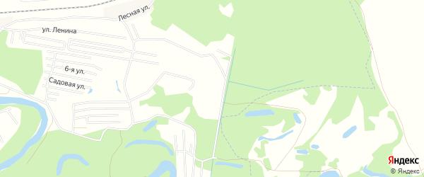СНТ Черемушки на карте Уфимского района с номерами домов
