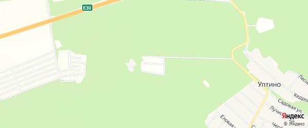 СНТ Уптино на карте Уфимского района с номерами домов