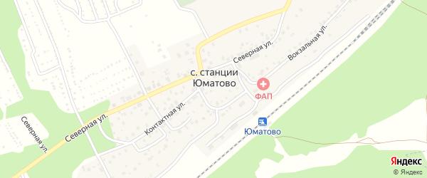 Спасский переулок на карте села ст Юматово с номерами домов