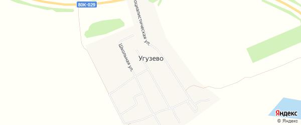 Карта села Угузево в Башкортостане с улицами и номерами домов