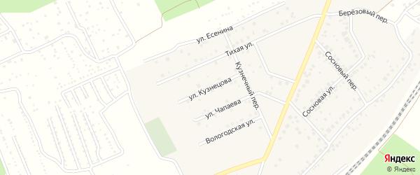 Улица Кузнецова на карте села ст Юматово с номерами домов