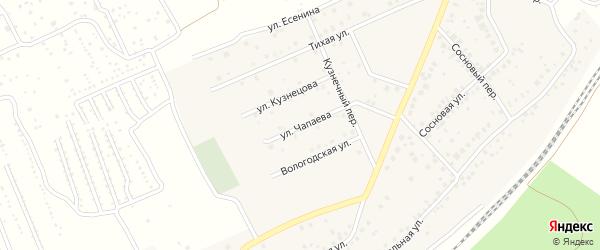 Улица Чапаева на карте села ст Юматово с номерами домов
