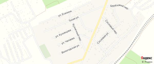 Кузнечный переулок на карте села ст Юматово с номерами домов