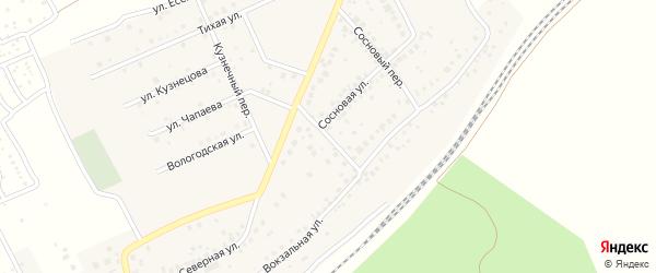 Дорожная улица на карте села ст Юматово с номерами домов