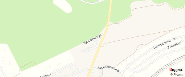 Курортная улица на карте села ст Юматово с номерами домов