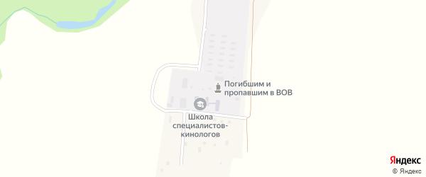 Кольцевая улица на карте деревни Ляхово с номерами домов