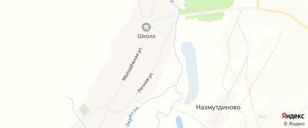 Карта деревни Марьяновки в Башкортостане с улицами и номерами домов