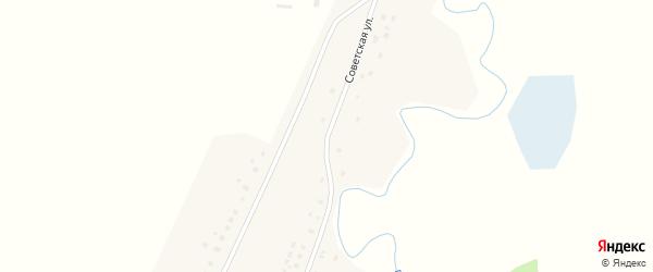 Интернациональная улица на карте деревни Марьяновки с номерами домов
