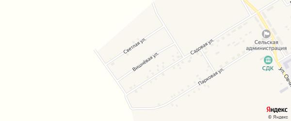 Вишневая улица на карте села Осиновки с номерами домов