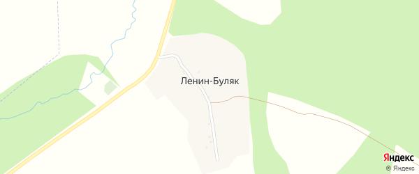 Ягодная улица на карте деревни Ленина-Буляка с номерами домов