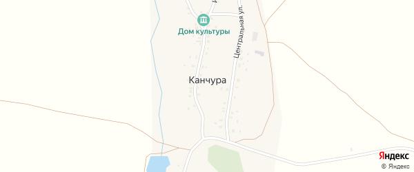 Улица Т.Имакова на карте деревни Канчуры с номерами домов