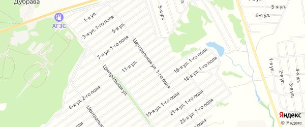 СНТ Шоморт на карте Уфимского района с номерами домов