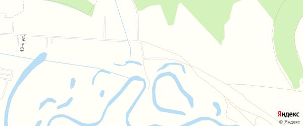 Карта деревни Кипчака в Башкортостане с улицами и номерами домов