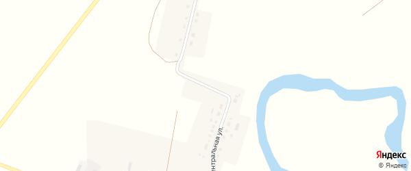Центральная улица на карте деревни Новофедоровского с номерами домов