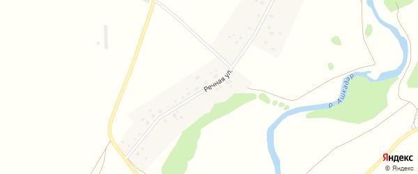 Речная улица на карте деревни Новофедоровского с номерами домов