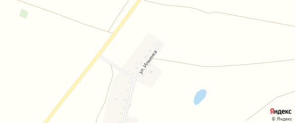 Улица Ильинка на карте деревни Новофедоровского с номерами домов