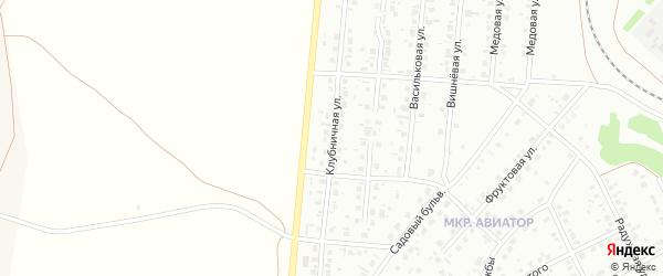 Клубничная улица на карте Кумертау с номерами домов