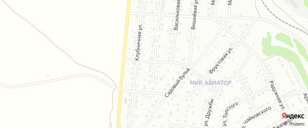 Земляничный переулок на карте Кумертау с номерами домов