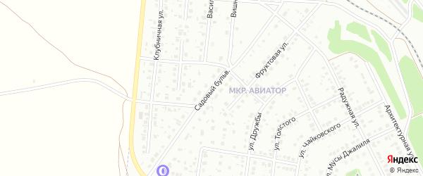 Садовый бульвар на карте Кумертау с номерами домов