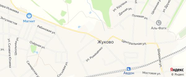 ГСК Ягодка на карте Дмитриевского сельсовета с номерами домов