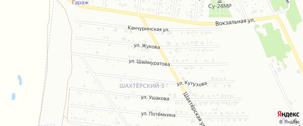 Улица Шаймуратова на карте Кумертау с номерами домов