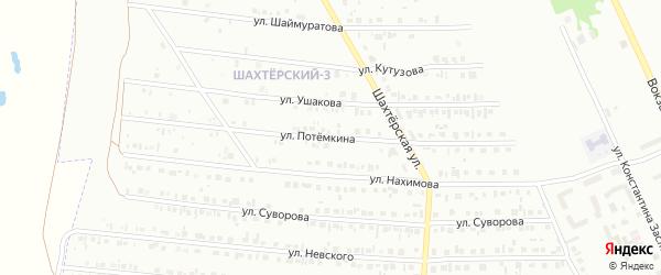 Улица Потемкина на карте Кумертау с номерами домов